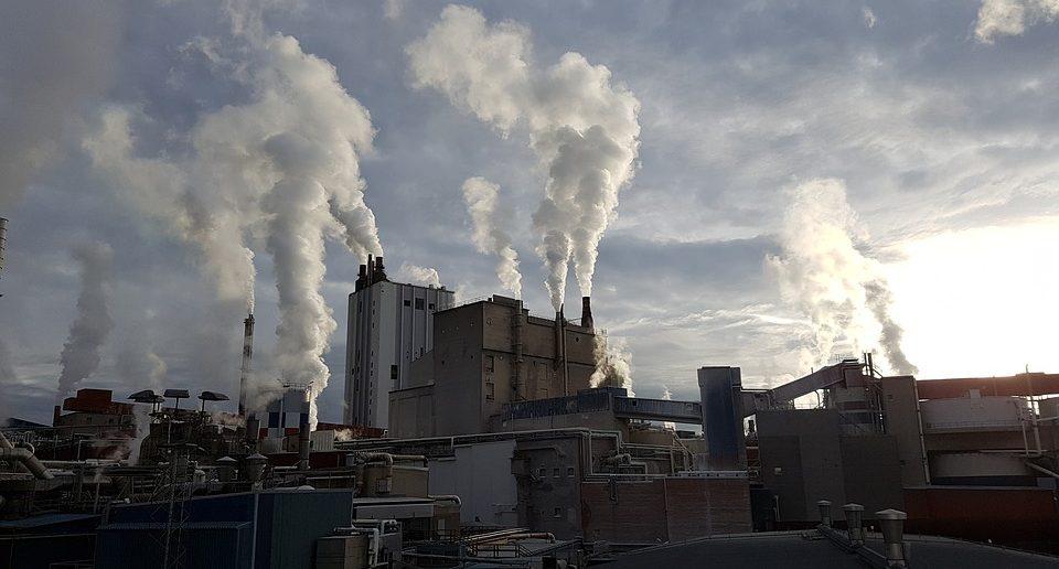 Eat Industry Factory Chimney Chimney Smoke Factory
